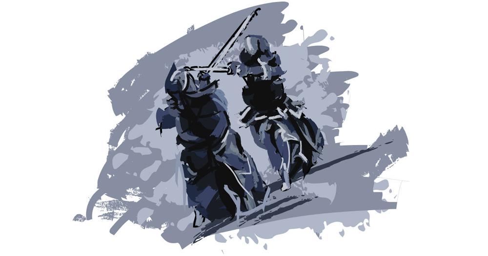 剣道部ならチームで作ろう!剣道Tシャツの定番デザイン