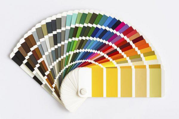 色見本で比較するボディ色とプリントカラーの組み合わせ(2色プリント編)