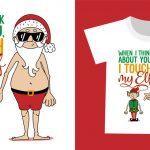 ホームパーティで盛り上がる!クリスマステーマのオリジナルTシャツ