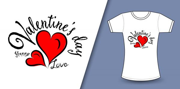 オリジナルTシャツで愛を伝える?!バレンタイン&ホワイトデー特集