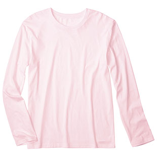 DM504 4.6oz Fine Fit Long Sleeve T-shirts